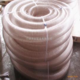 PU木工吸尘管家具板厂除尘管透明钢丝伸缩管