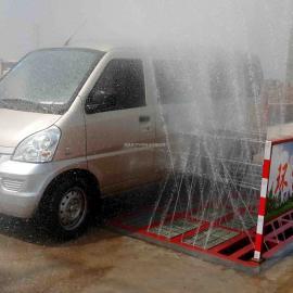 环保洗车机建筑工地泥土车洗车平台