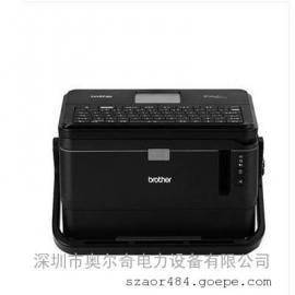 兄弟标签打印机PT-E850TKW连接电脑打印一路带一路