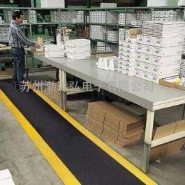 中国地垫 耐用型抗疲劳地垫 带黄边地垫