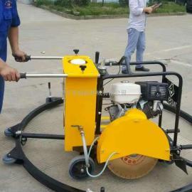 手推式下水道井盖切割机型号齐全 球墨铸铁井盖切圆机厂家直销