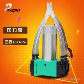 微型真空泵负压泵小型打气泵气体采集隔膜泵电动压力泵无油