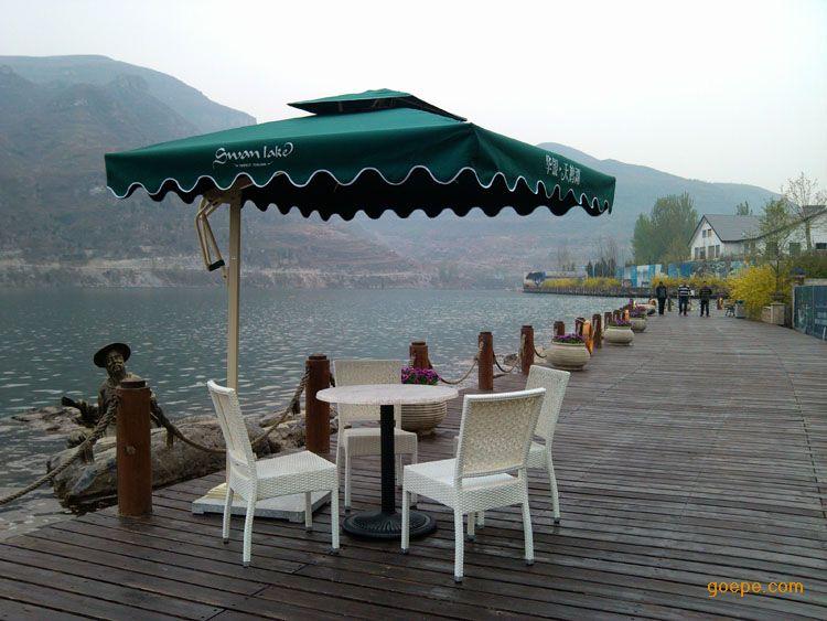 供应户外遮阳伞 遮阳伞批发 休闲咖啡厅遮阳伞