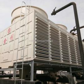 河南金创JCN系列玻璃钢逆流式方型冷却塔生产厂家