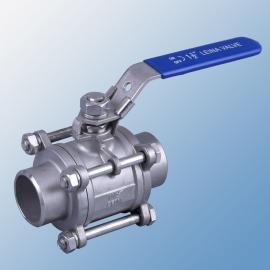 3PC德标对焊球阀不锈钢对焊球阀三片式对焊球阀阀门