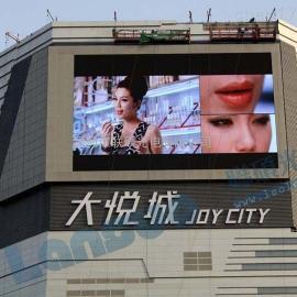 播放商业广告LED大屏幕价格要多少钱一平米
