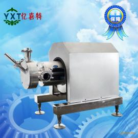 油漆涂料化工行业 卫生级不锈钢吸粉式高剪切分散乳化机