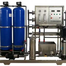 0.5吨纯水设备全自动反渗透设备定做工业纯水设备桶装水设备