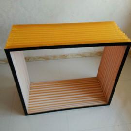 矩形耐酸碱风琴防护罩