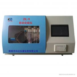 触控自动定硫仪,快速一体化定硫仪