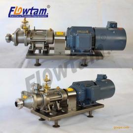 不锈钢高粘度耐腐蚀泵 浓酱输送泵 树脂胶水泵 浆料泵