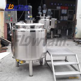 不锈钢电加热搅拌桶 多功能饮料搅拌罐液体搅拌机