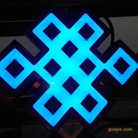 LED中国结特色户外壁灯 私模壁灯 景观灯厂家 亚克力节日灯