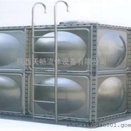 装配式玻璃钢消防水箱安装