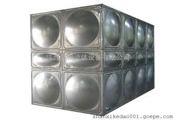 渭南不锈钢箱泵一体化水箱尺寸