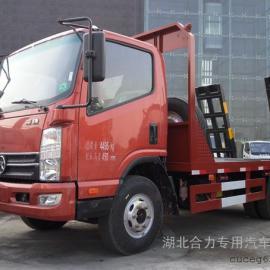 东风凯马蓝牌平板运输车,平板拖车,小型平板车