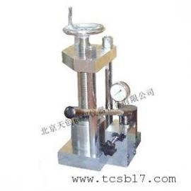 TBYP-8手动粉末压片机
