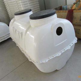 小型模压玻璃钢化粪池生产厂家@地埋式一体化污水处理设备