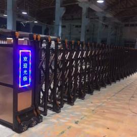 抚州款式新颖电动伸缩门安装厂家专注电动伸缩门生产厂家