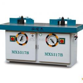 供应泓峻杰加工设备MX5317B双轴木工铣床 双头轴镂铣机