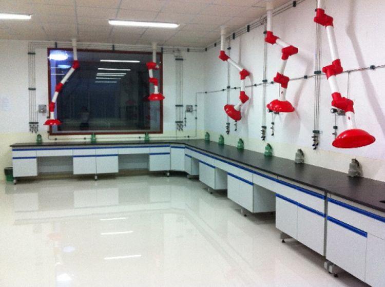 广东实验室家具工程|实验台、通风柜生产厂家 禄米科技
