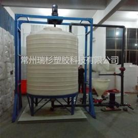 常州15吨外加剂搅拌复配设备 减水剂搅拌复配罐