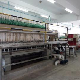 隔膜压滤机 兴泰低水分自动隔膜压滤机 自动翻板压滤机