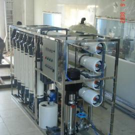 8吨/小时超滤加反渗透设备
