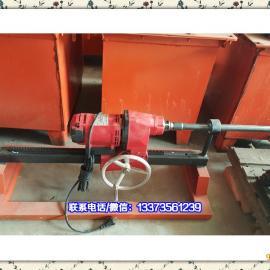 鼎力220v-4kw手摇水钻顶管机两相自来水顶管机小型水钻