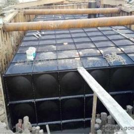 西安抗浮式地埋消防水箱