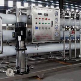 每小时4吨二级反渗透水处理设备