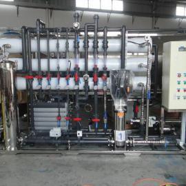 每小时6吨反渗透加EDI超纯水设备