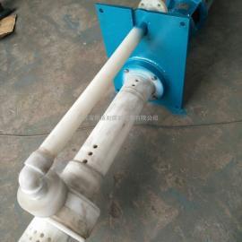 可带搅拌的耐酸碱液下泵 污水提升泵