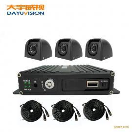 急救车专用车载监控3头套装 4路同轴720P高清车载录像机