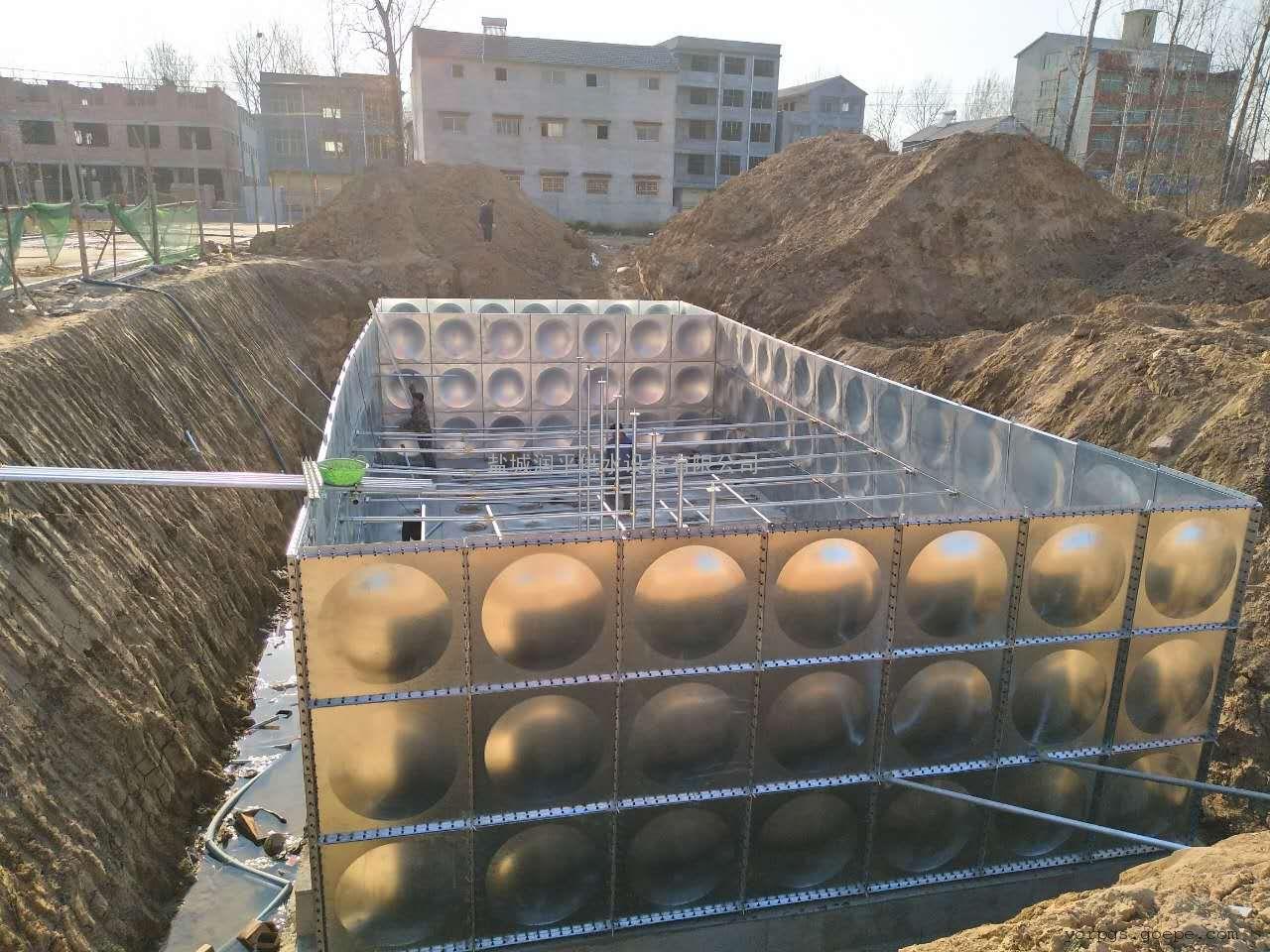 预制一体化泵站 玻璃钢一体化污水提升泵站