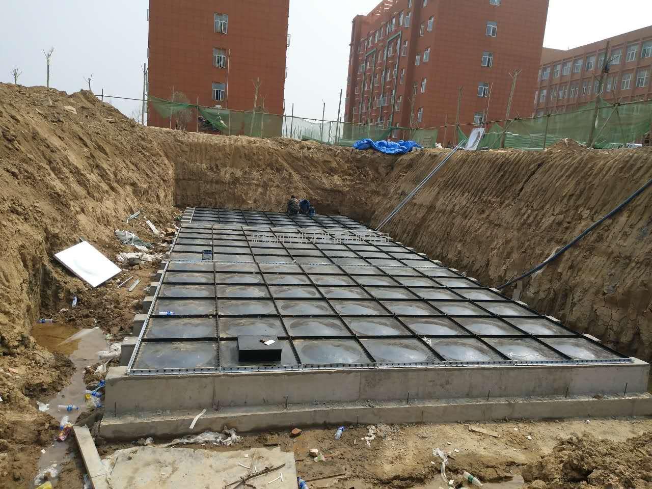 BDF地埋水箱厂家 地 埋式箱泵一体化泵站 建湖厂家