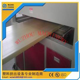 塑料门板生产线 防火木塑门板生产设备