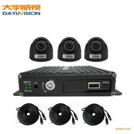 抢险车车载监控4路720p高清车载Mdvr视频监控方案