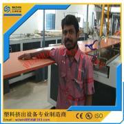 塑料墙板设备-PVC中空家具板设备