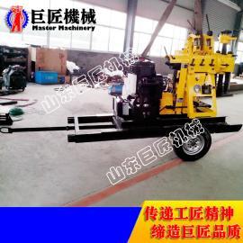青海直供XYX-200型轮式钻井机械设备 小型农用打井机