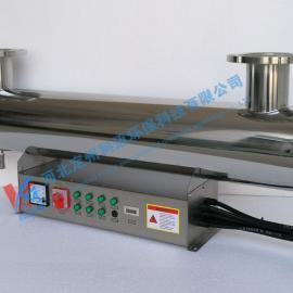 304不�P�水�理紫外消毒器�羲�器家用6W-220W�^流式紫外��⒕�器