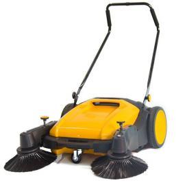 凯达仕无动力扫地机 工厂车间用手推式双刷地面清扫机