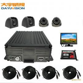 AHD高清百万4路车载录像机大型收割机专用车载监控套装