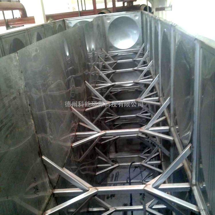 山东厂家供应消防专用304不锈钢隔板水箱 可装冷热水