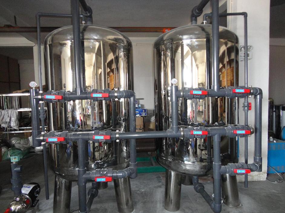 高含铁锰量去除二级除铁除锰设备