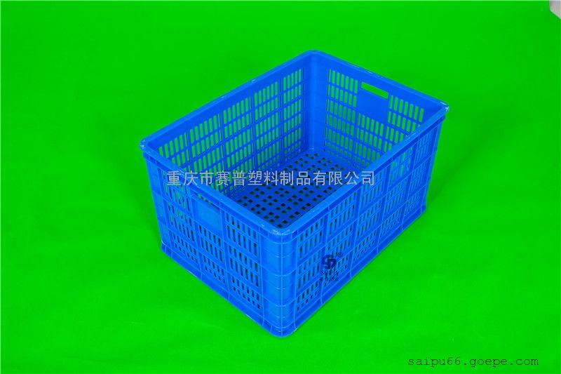 重庆胶筐厂家 零配件周转胶框成品箱