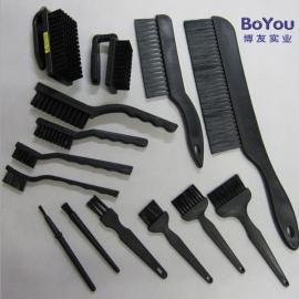 防静电毛刷新款毛质长柄刷子导电PA材料耐高温刷子厂家批发