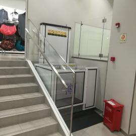 深圳无障碍电动升降平台,残疾人升降机