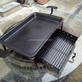 加厚炭火烤鱼盘