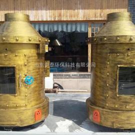 客户实拍商用木炭烤全羊炉子自动翻转烤羊炉无烟全羊羊腿羊排蒙古